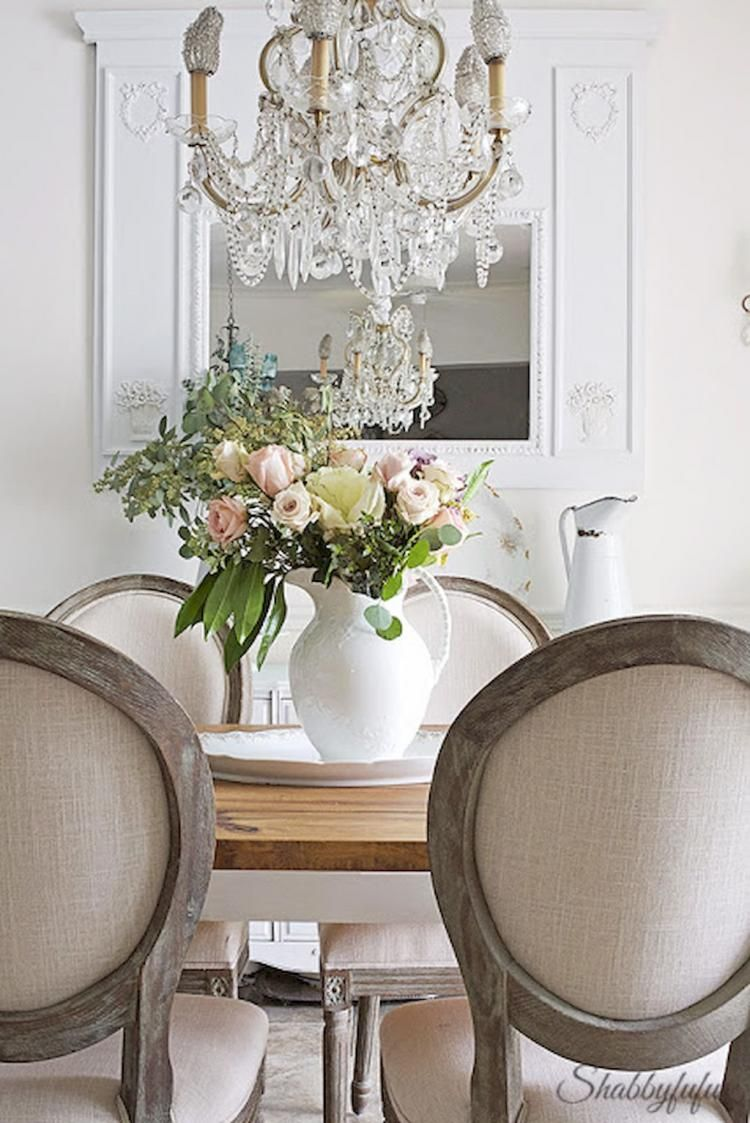 50 Fancy French Country Dining Room Table Decor Ideas French Country Dining Room French Country Dining Room Table French Country Dining Room Decor