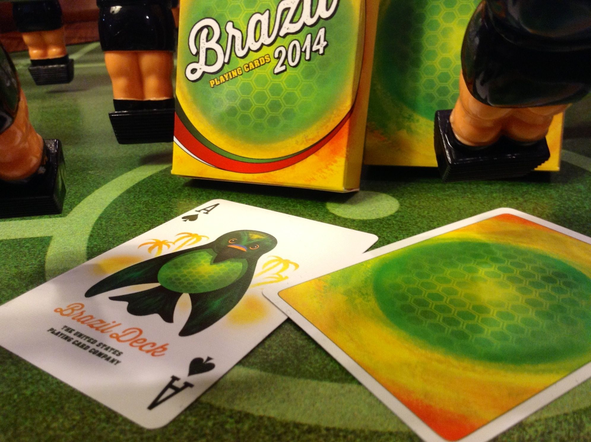 Brazil 2014 Commemorative Playing Cards