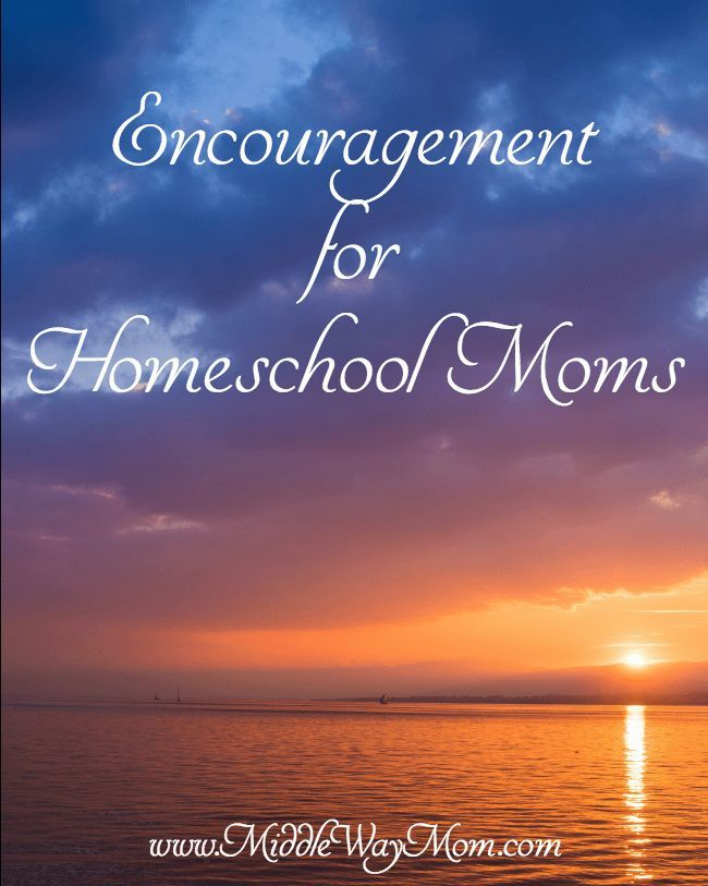 Encouragement for Homeschool Moms