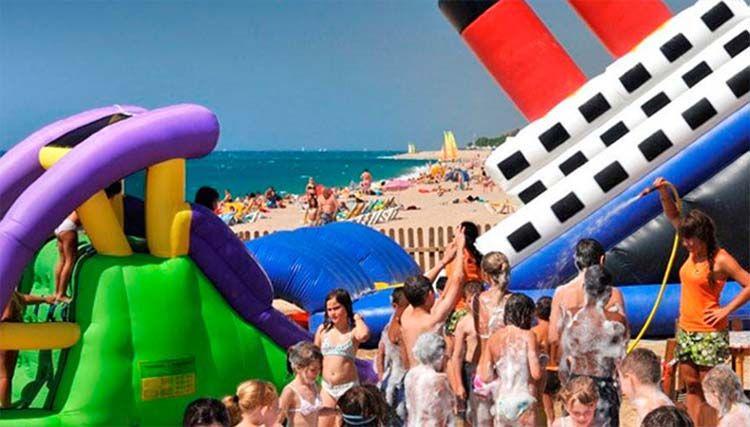 Playas Para Ir Con Niños Cerca De Barcelona Viajar Con Niños Playa Turismo
