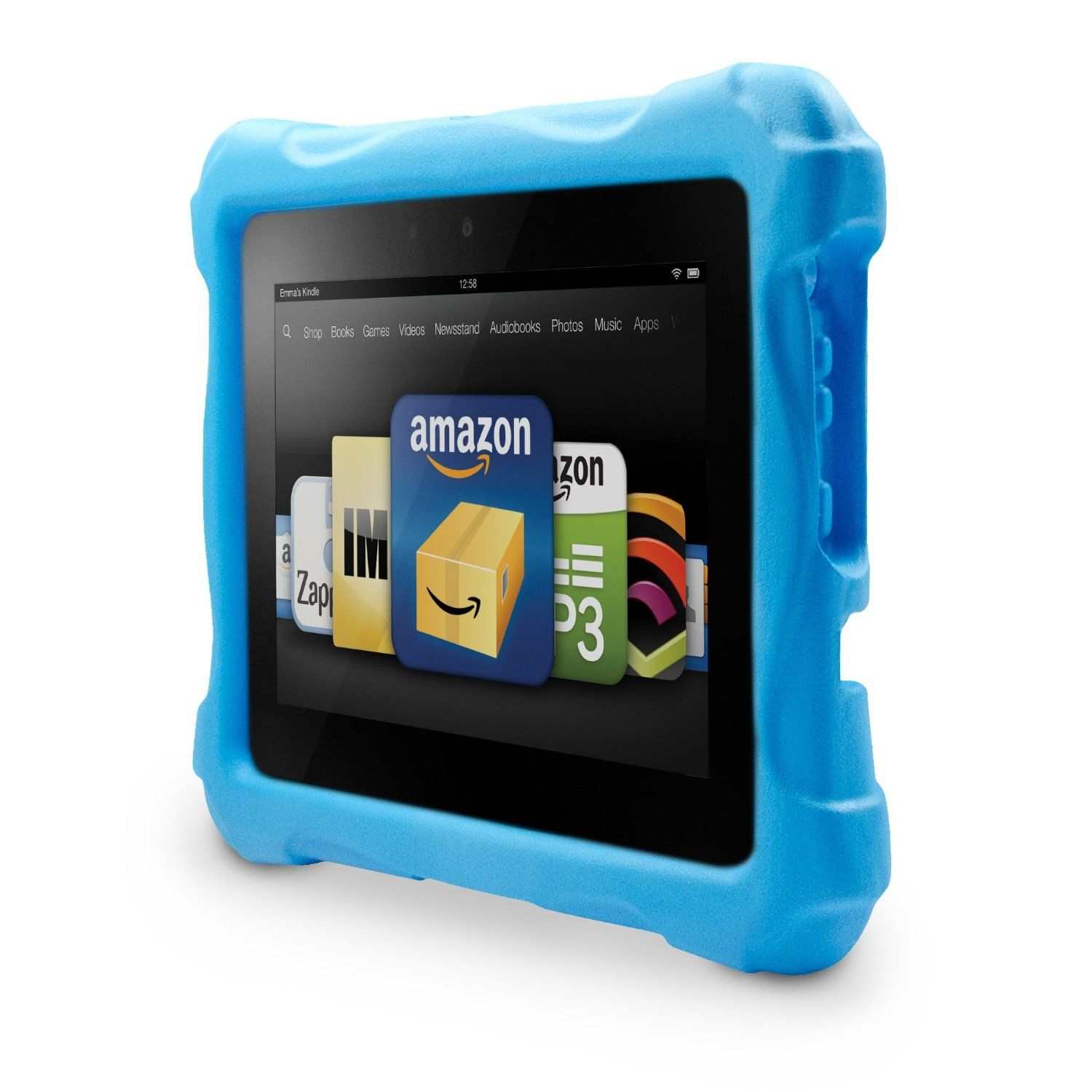 marware swurve kid proof case for kindle fire hd 7 blue