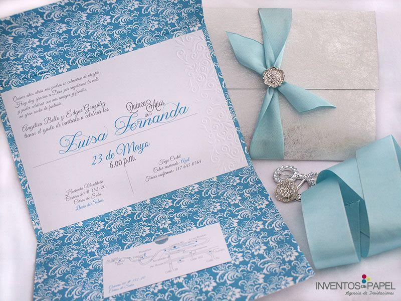 Una Invitación Super Elegante Para Tus Quince Años