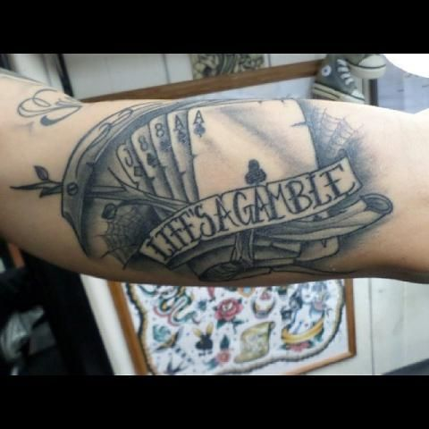 Joker Tattoo Cartas Buscar Con Google Tatuajes Joker