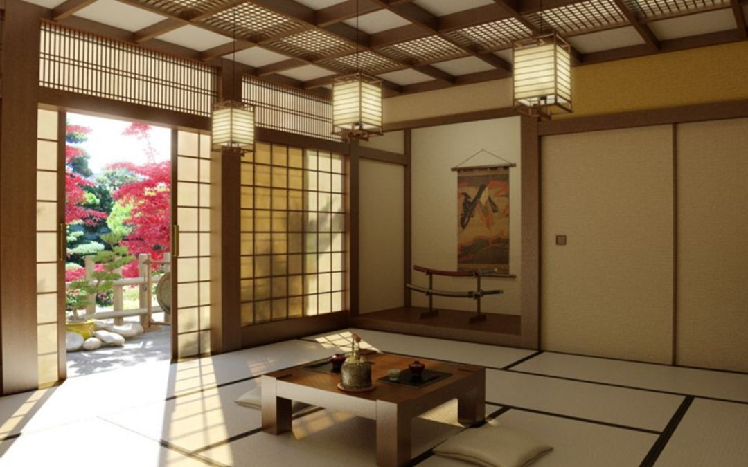20 Home Interior Design With Traditional Japanese Style With