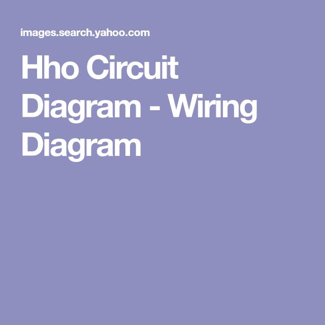f363edd19ae16ae1fd4fa98633cbde33 hho circuit diagram wiring diagram circuit diagram pinterest
