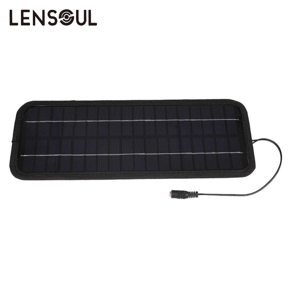 Smart Solar Panel Board W Alligator Clips Solar Power Charger For Car Motor Rv Boat Caravan Battery Char Solar Power Charger Solar Power Diy Car Battery Hacks