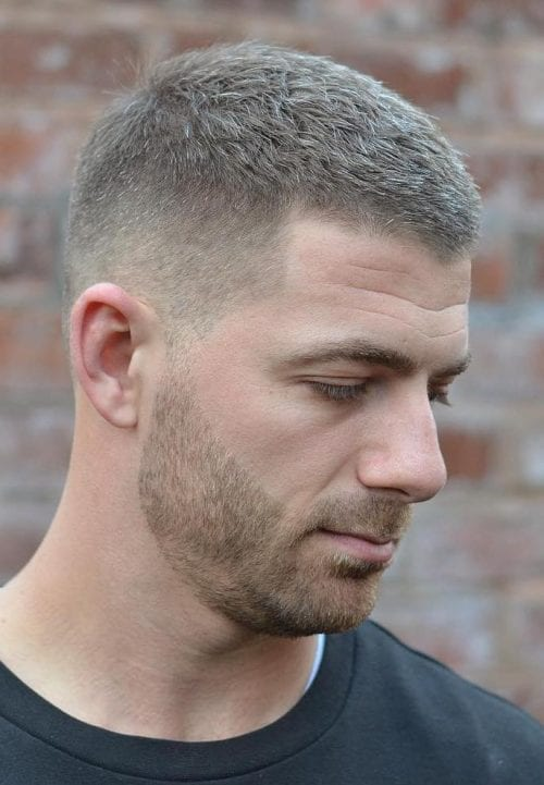 Subtle Side Taper With Rough Top 45 Simple Short Hairstyles For Men Clean Short Haircuts 2019 Mens Hairstyles Short Mens Haircuts Short Mens Haircuts Fade