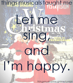 White christmas musical broadway soundtrack