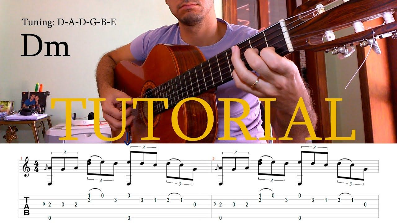 Fingerstyle Tutorial The Last Of The Mohicans Guitar Tab Youtube Guitar Tabs Learn Acoustic Guitar Acoustic Guitar