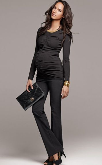 mitad de descuento bb3b1 b3355 HM, moda premamá otoño-invierno, ropa de embarazada de H&M ...