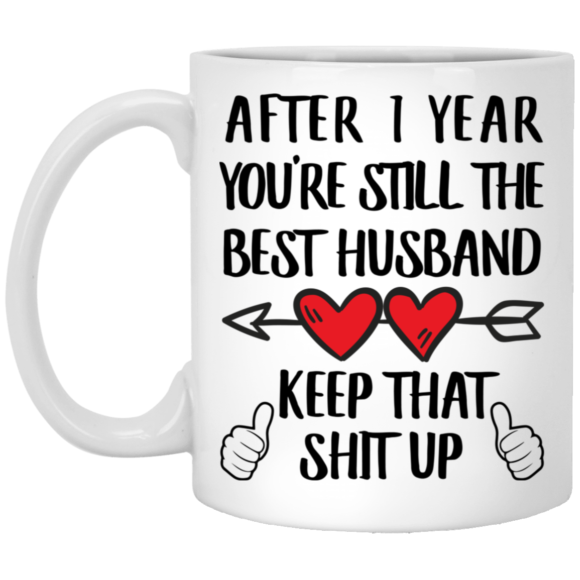 Sarcastic 1 Year Wedding Anniversary Gifts For Him Coffee