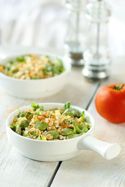 Green Beans Salad with Sweet Onion Dressing