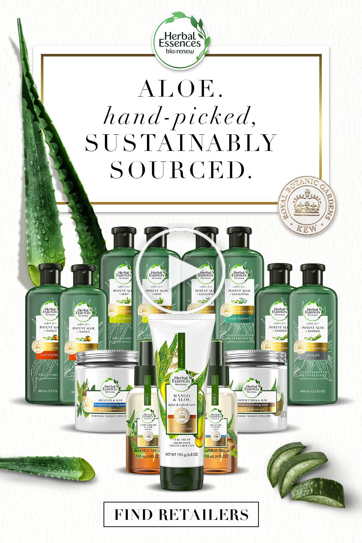 Herbal Essences Aloe Sammlungen werden von dem Royal