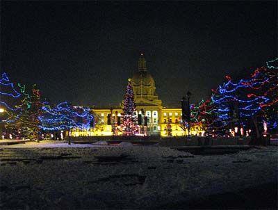 Christmas Lights At The Legislature Edmonton Hometown Christmas Lights