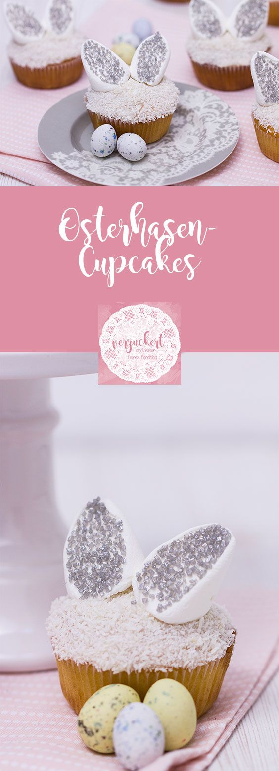 OsterhasenCupcakes mit Vanillefüllung Rezept