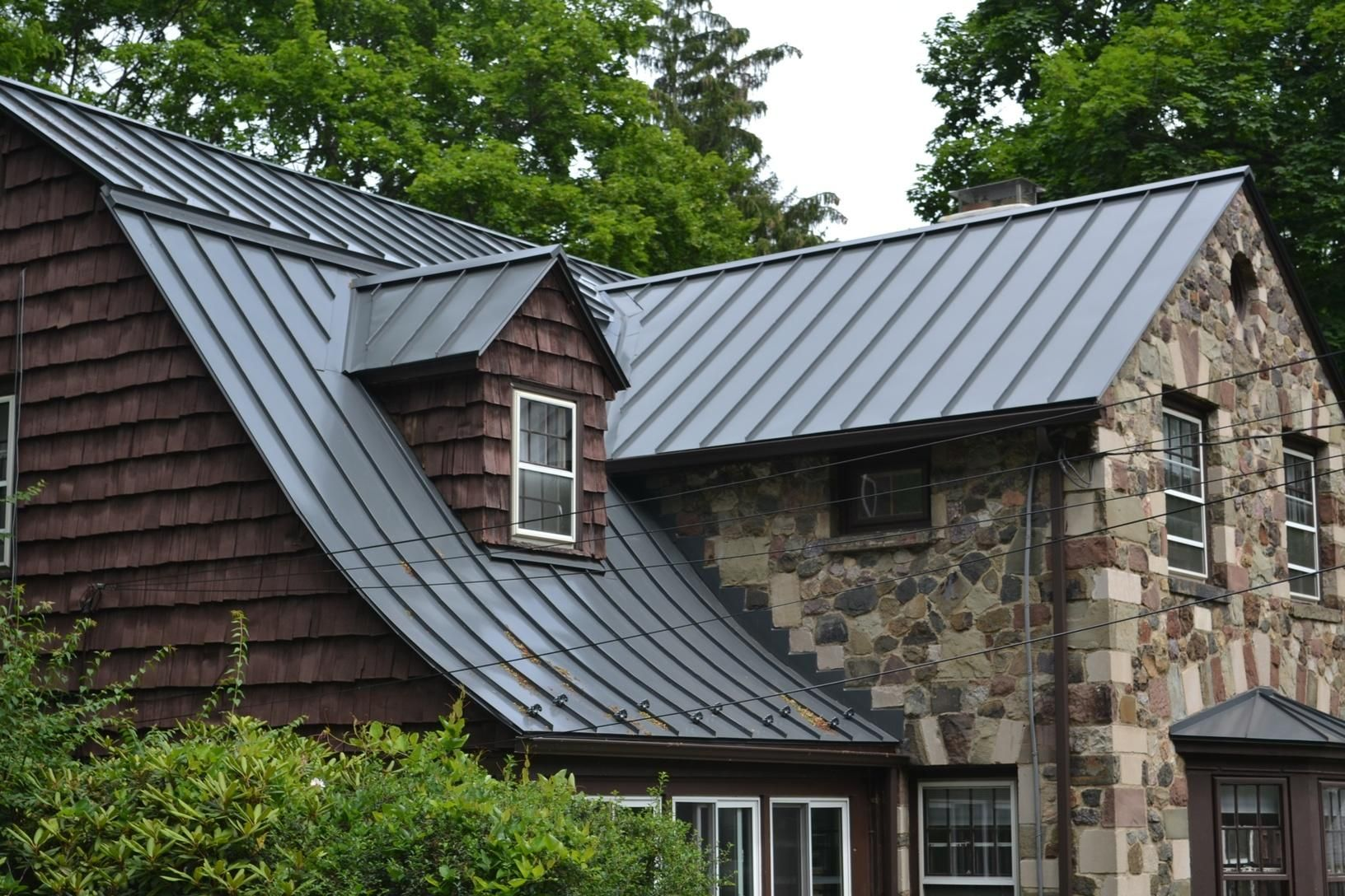 Roof Replacement Custom Standing Seam Metal Roofing In New Jersey Metal Roof Installation Maplewood N Metal Roof Installation Metal Roof Roof Installation