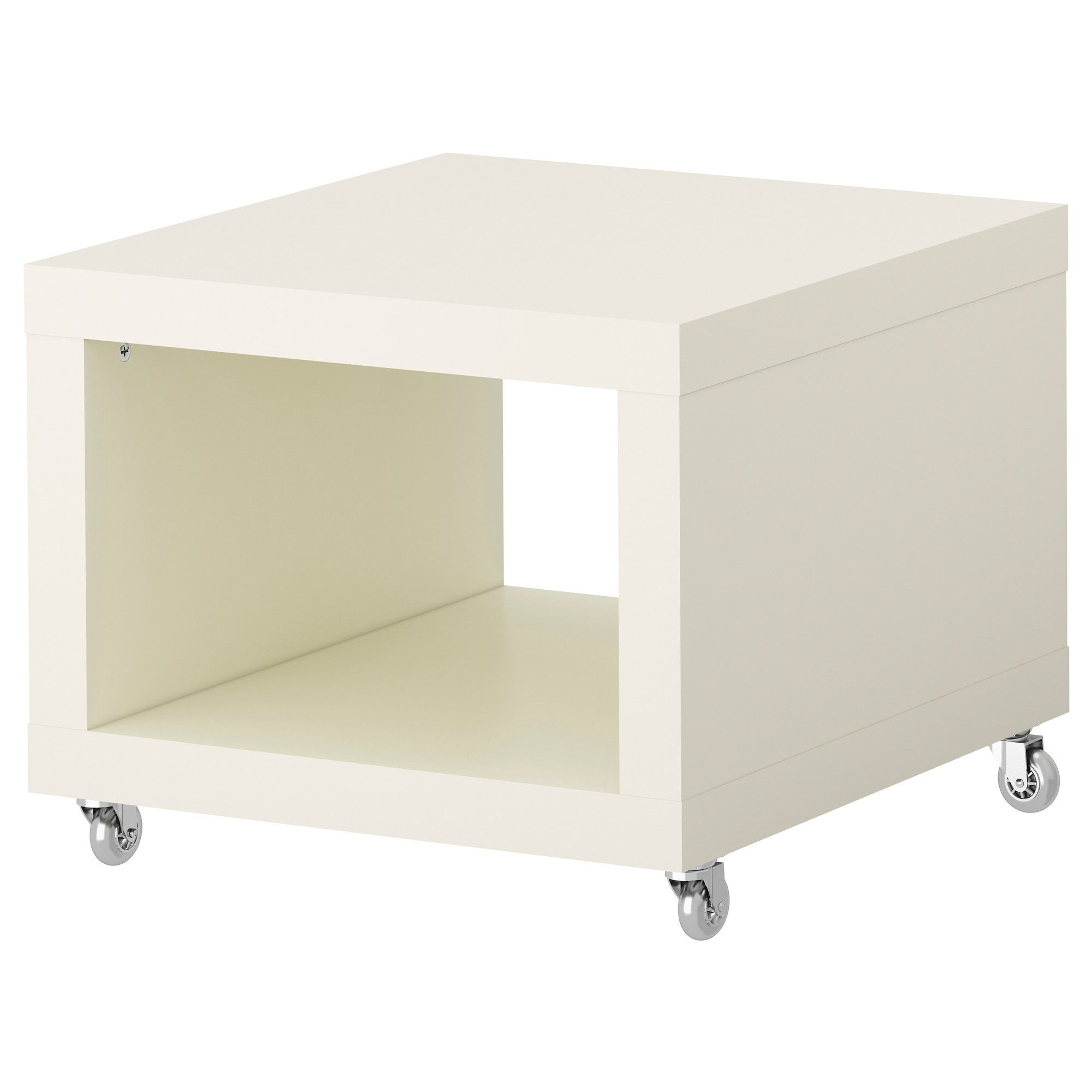 Ikea Sofa With Wheels Carolina Bed Lack Side Table On Casters Use 2 Wide Rubber