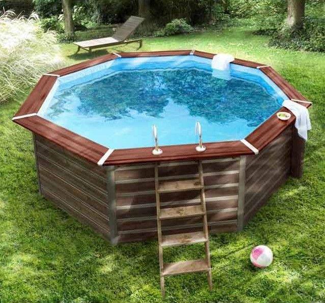 Piscine bois blooma kari pas cher piscine castorama for Piscine bois rectangulaire castorama