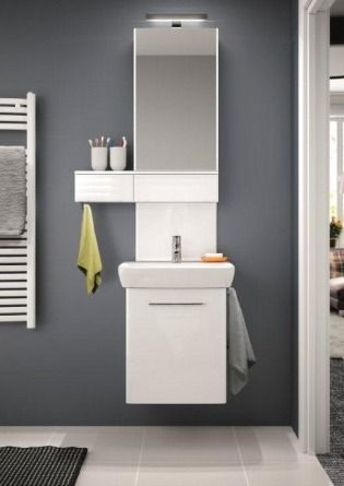 Meble Do łazienki Kolumna Umywalkowa Nova Pro Koło Meble