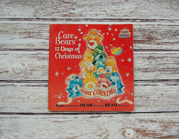Care Bears Book And Record The Twelve Days Of Christmas