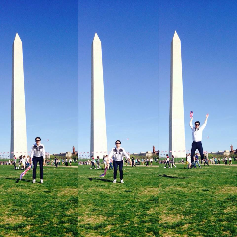 It was when I came to Cherry Blossom in D.C .  wonderful day :)