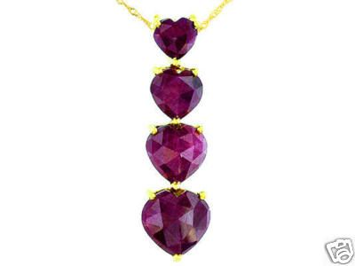 5.50ctw Ruby Heart Journey Pendant yellow gold    http://stores.ebay.com/JEWELRY-AND-GIFTS-BY-ALICE-AND-ANN