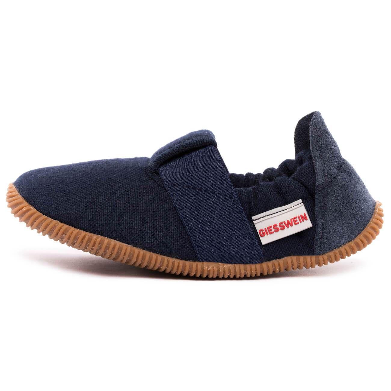 Giesswein Soll Slim Fit Dk Blau 548 Hausschuhe Hausschuhe Kinder Kinder Schuhe