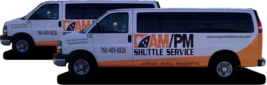 Am Pm Shuttle Service Vans With Images Transportation Services