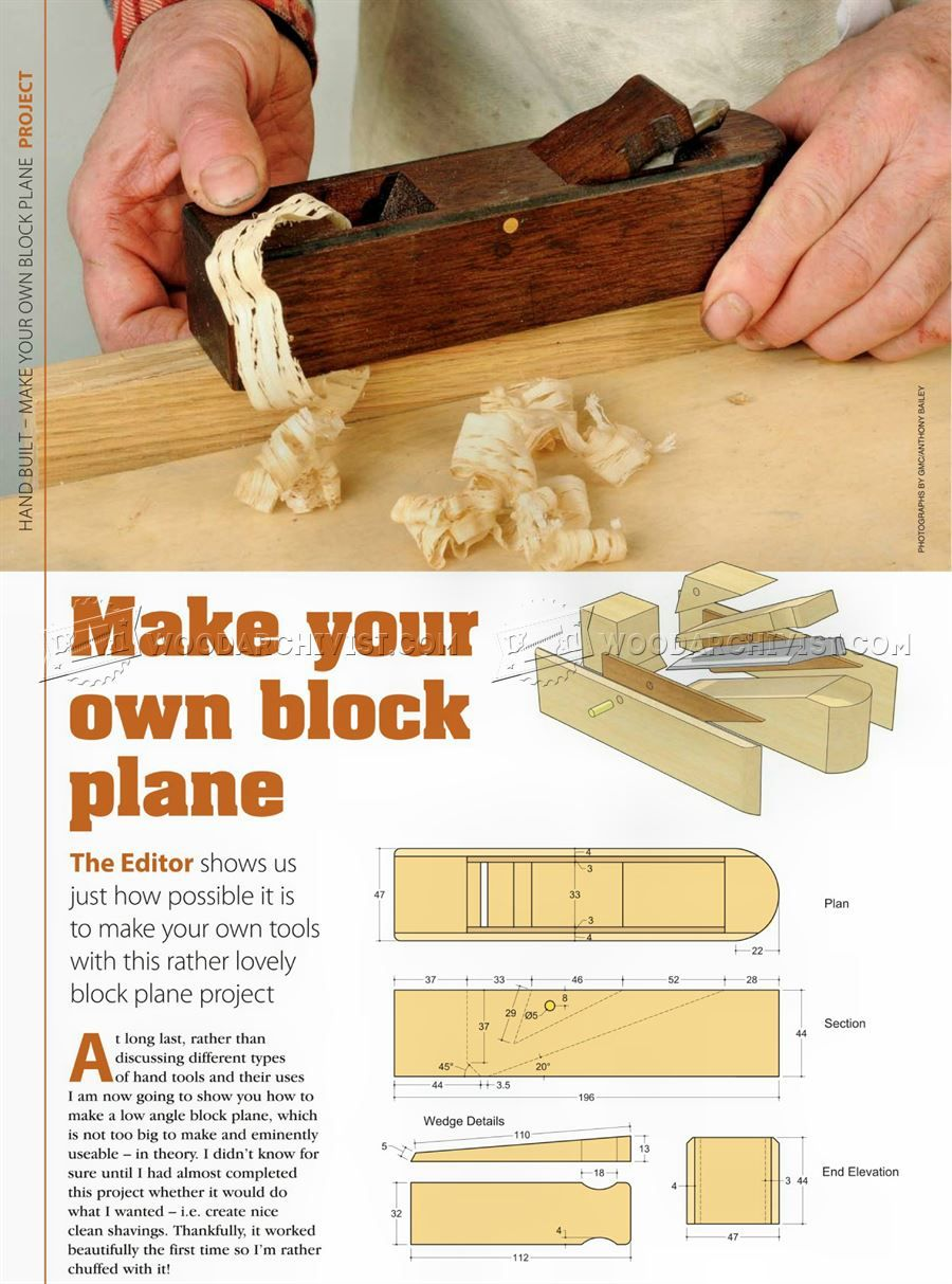 Image Of 769 Diy Block Plane Jigs In 2019 Woodworking Hand