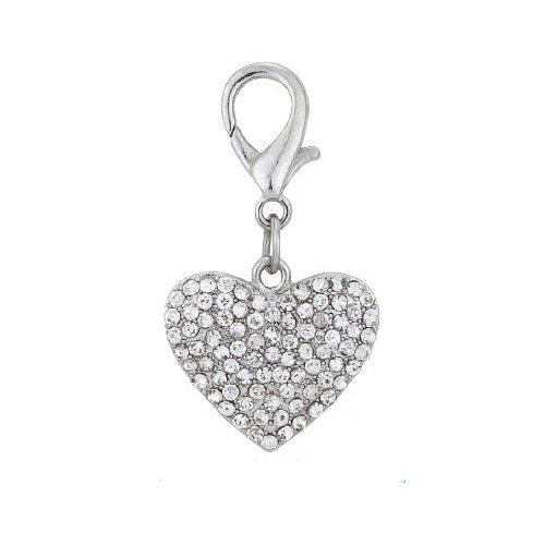 PetFavorites Couture Designer Bling Rhinestone Heart Pet Cat Dog Necklace Collar Charm Pendant Jewelry >>> Want to know more, click on the image. (This is an affiliate link and I receive a commission for the sales)