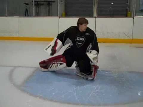 Improving Knee Slides For Goalies Youtube Hockey Goalies