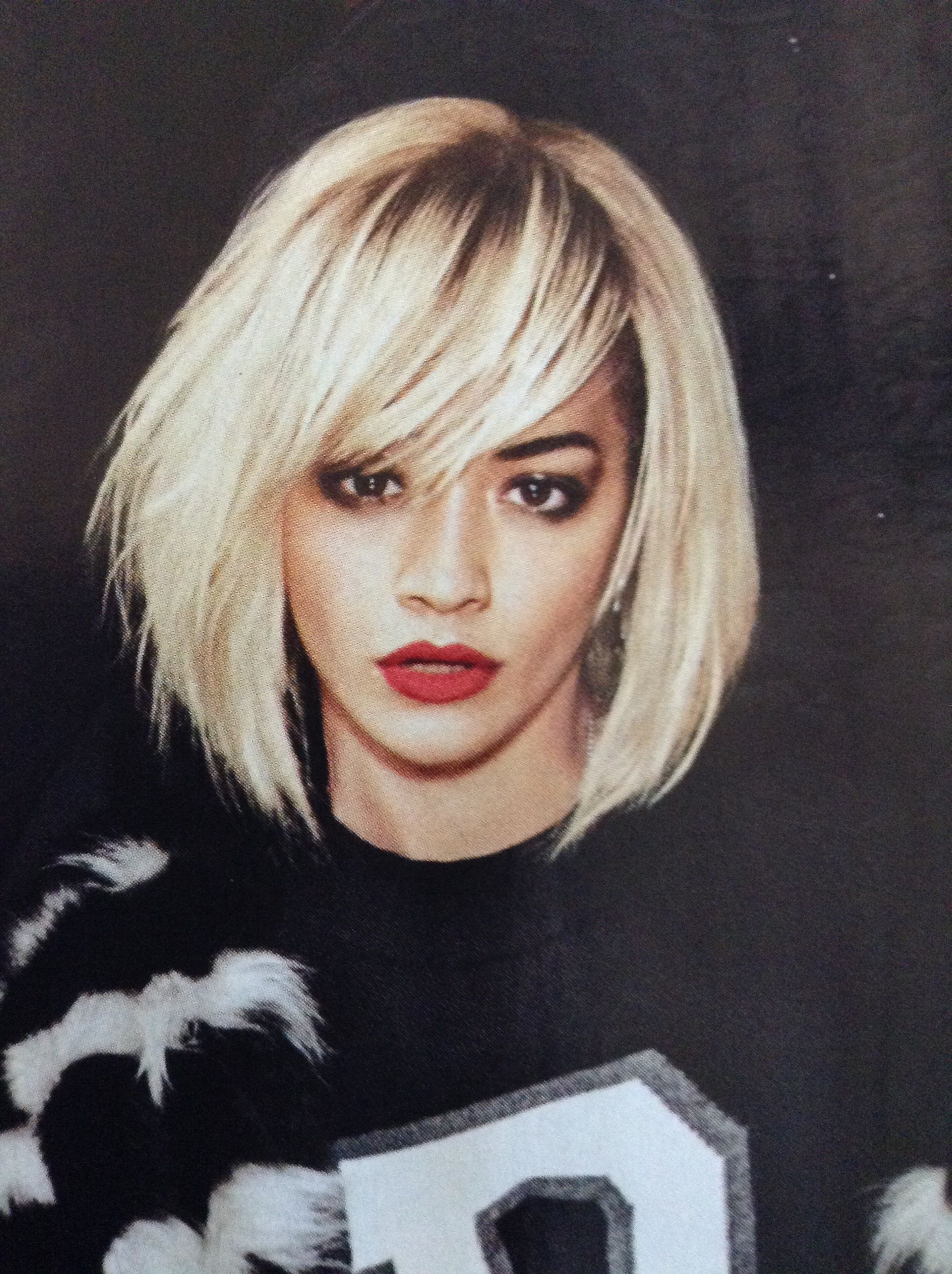 rita ora. hair and makeup perfection. | cheveux | cheveux