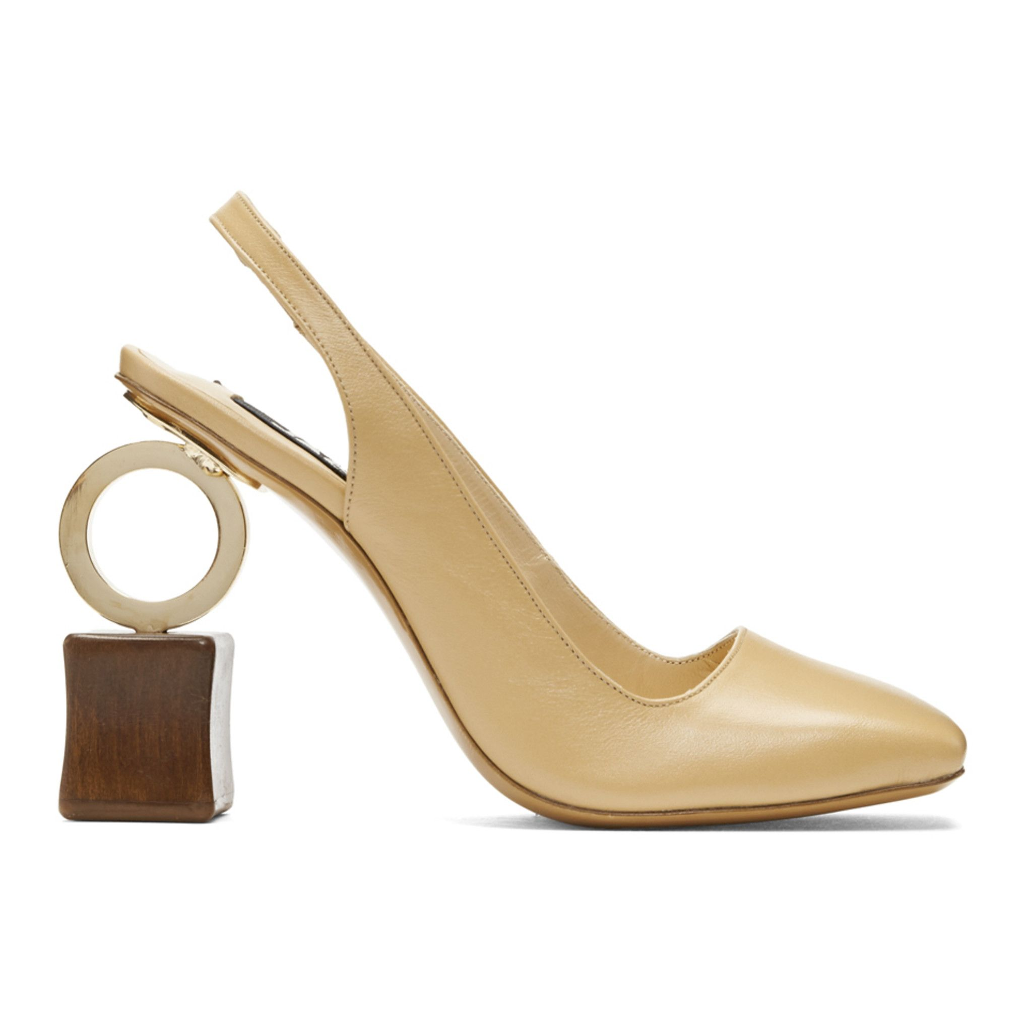 db56ce3afaf Jacquemus - Beige  Les Chaussures Conga  Heels Jacquemus Shoes