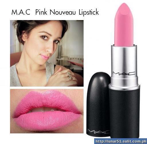 mac pink nouveau mac lipstick wishlist pinterest. Black Bedroom Furniture Sets. Home Design Ideas
