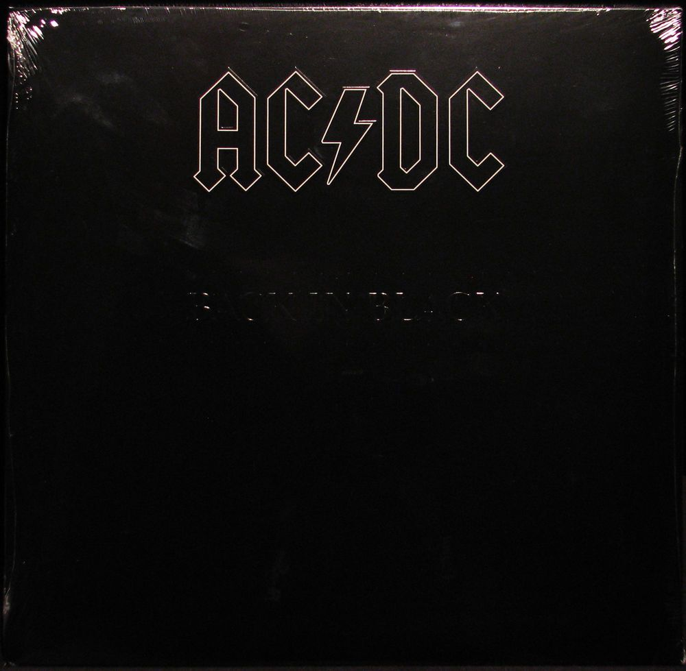 Details About Ac Dc Back In Black Latest Pressing Lp Vinyl