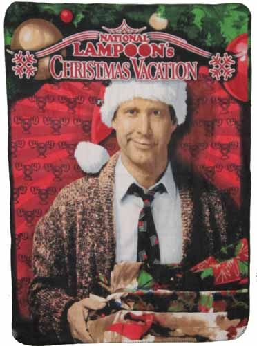Clark Griswold Pile of Gifts Fleece Throw Blanket ...