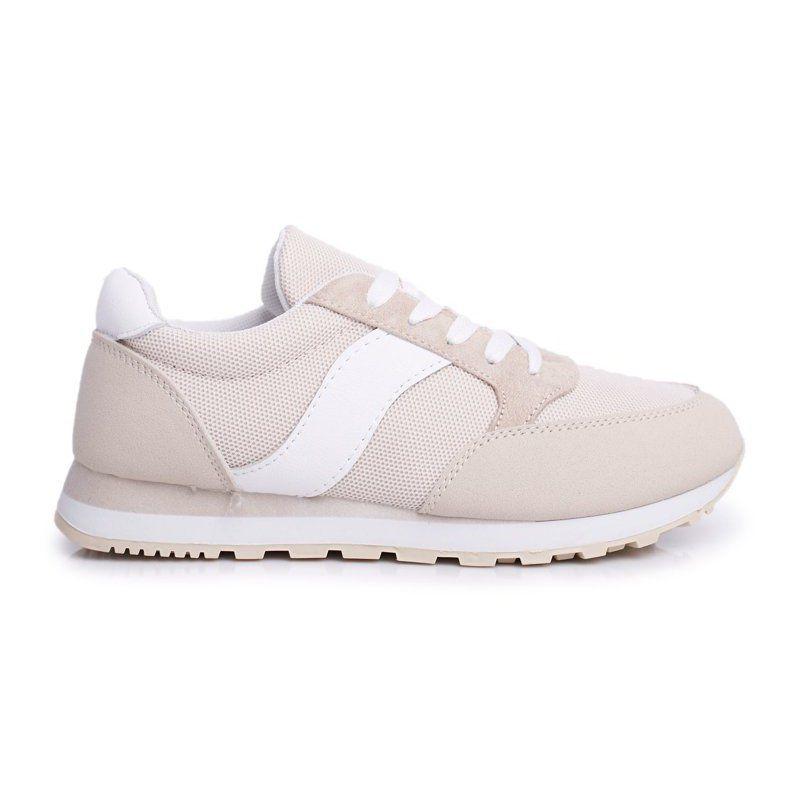 Sea Sportowe Damskie Buty Bezowe Determine Bezowy Shoes Sneakers Fashion