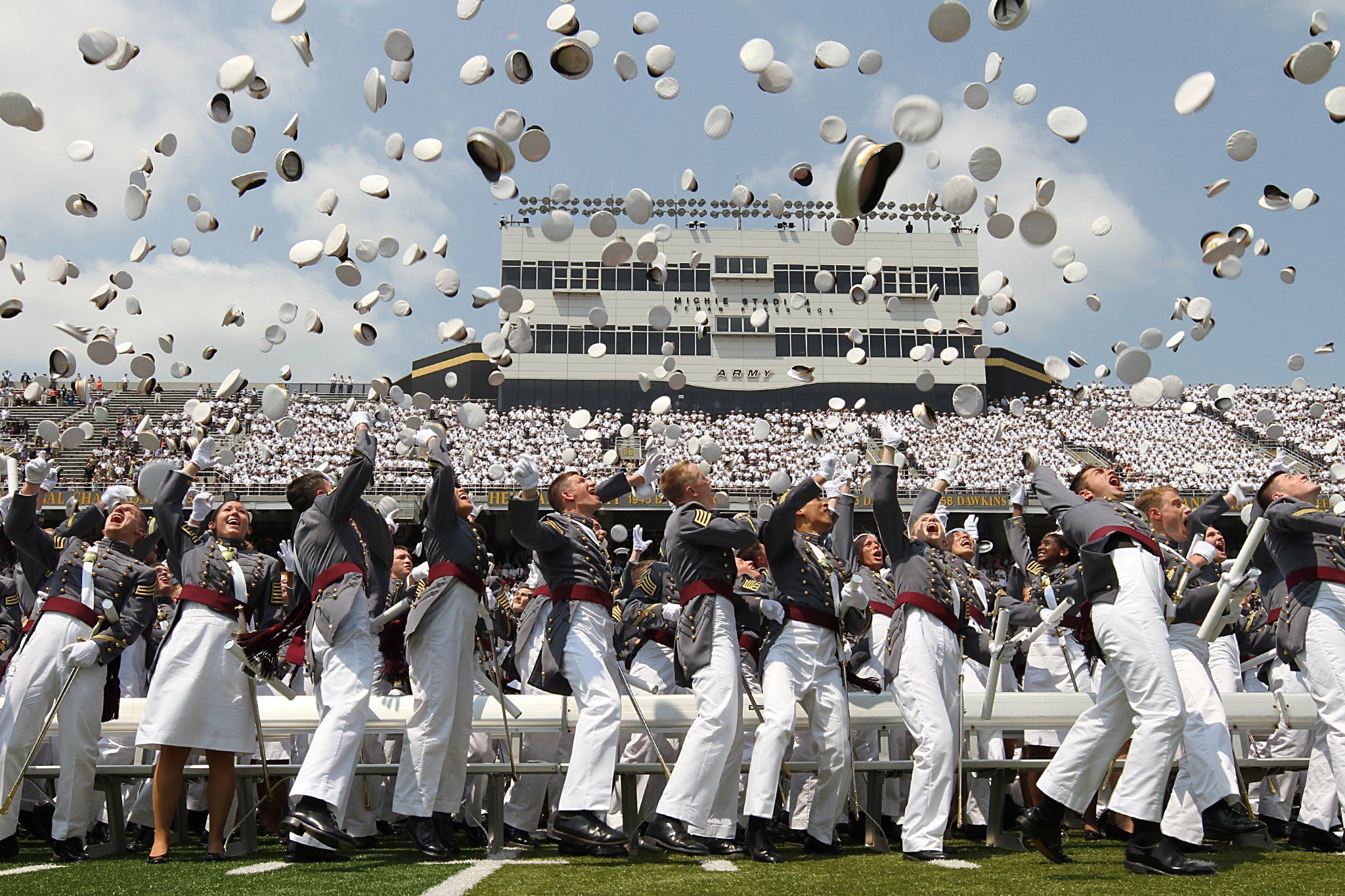 West Point Graduation--Where Army cadets become officers. #HOOAH #GoArmy