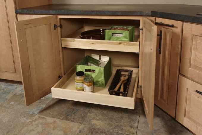 Specialty Kitchen Cabinets   Wall ovens, Wine rack and Kitchens