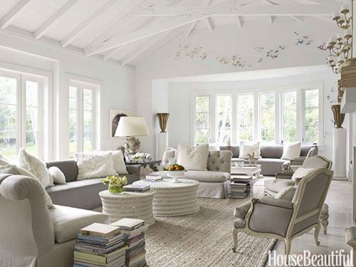 10 Gorgeous Gray Living Rooms That Are The Definition Of Chic French Living Rooms French Living Room Decor French Country Living Room