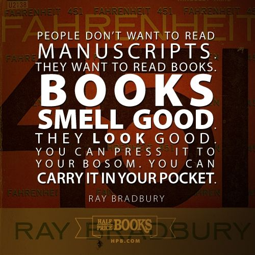 Ray Bradbury #quote -- Repin this and be entered to WIN a Half ...