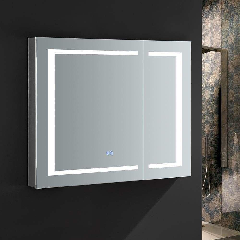Fresca 40 Wide X 36 Tall Bathroom Medicine Cabinet W Mirrors Bathroom Vanity Cabinet Cabinets 30 Bathroom Medicine Cabinet Bathroom Cabinet