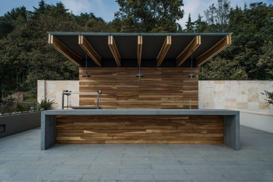 Roof garden barra de estilo por rhyzoma arquitectura y - Disenos de patios ...