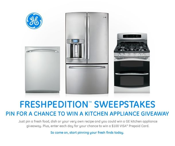Pin for a chance to win the GE Freshpedition Sweepstakes #GEfreshPA