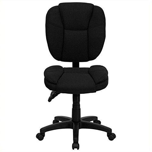5//16-Inch Stem Diameter 75-lb Load Capacity Black 2 Pack 2-Pack Twin Wheel Shepherd Hardware 9418 2-Inch Office Chair Caster