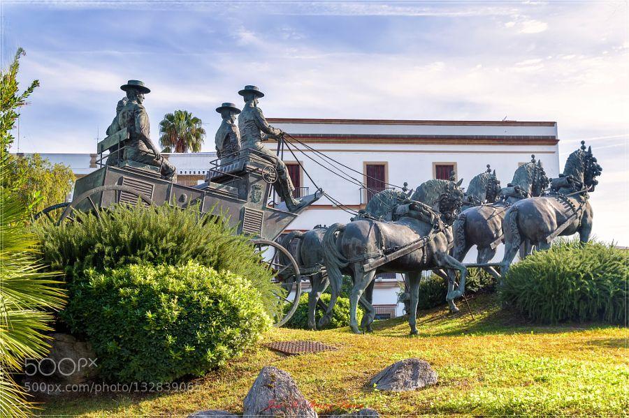 Monumento al enganche  Jerez de la Frontera by jamr