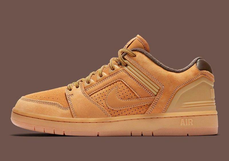 "Nike SB Air Force Low 2 ""Premium Wheat"" Review | Nike sb"