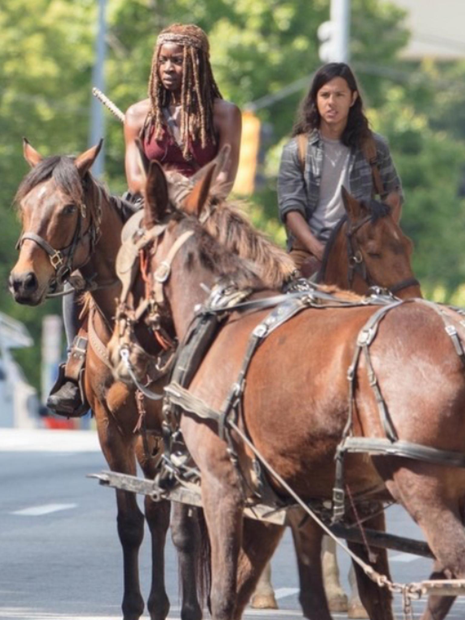 Behind the Scenes on The Walking Dead Season 9 Walking Dead Season 9, The  Walking