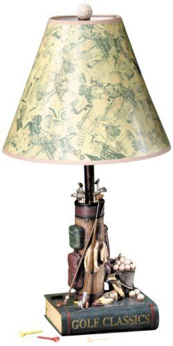 golf gifts gallery clubhouse collection classic golf lamp by golf gifts gallery. Black Bedroom Furniture Sets. Home Design Ideas
