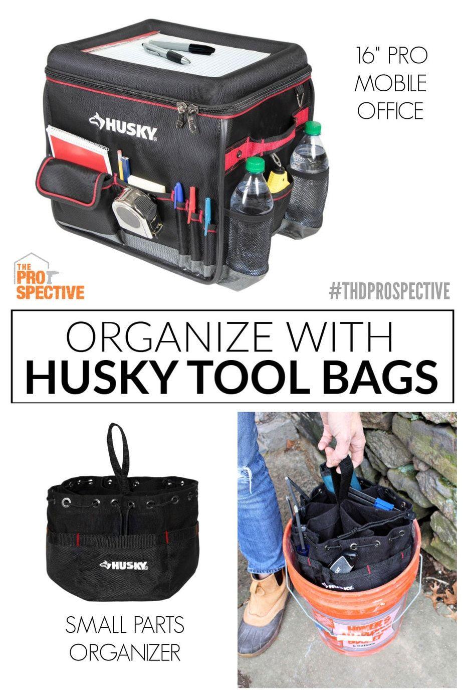 Keep Organized With Husky Tool Bags With Images Husky Tool Bag